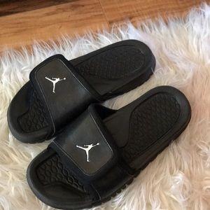 Black Air Jordan Slides   Poshmark